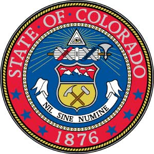 Seal of the state of Colorado
